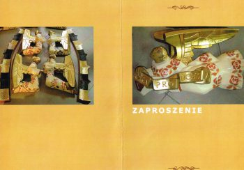 20 XI 2013 – Prezentacja skrzyni renesansowej z Gogołowa oraz zespołu rzeźb Jerzego Bandury (Marta Nikiel, Aneta i Maciej Filip)