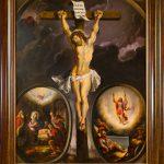 Chrystus Ukrzyżowany z medalionami