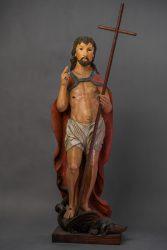 Chrystus Zmartwychwstały na smoku
