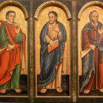 Apostołowie - fragment ikonostasu