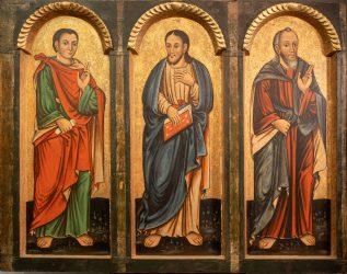 Apostołowie – fragment ikonostasu
