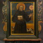 Feretron ze św. Bernardynem ze Sieny i św. Mikołajem